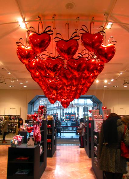 Decoracion San Valentin Tiendas ~ La decoraci?n de San Valent?n de la tienda tambi?n era genial?